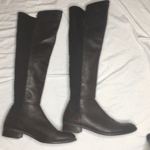 Vince Camuto Shoes - Vince Camuto Over Knee Boots In chocolate brown.